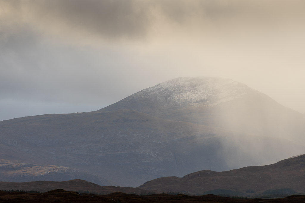 storm - mountains - snow - light - showers - come and go - lewis - landscape photography - travel photography - creartphoto