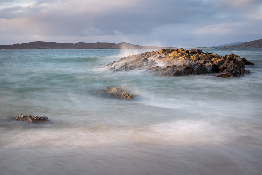 rock - sea - hills - light - ocean - harris - Scotland - landscape photography - travel photography - creartphoto
